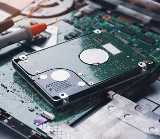 dysk 1 TB w laptopie